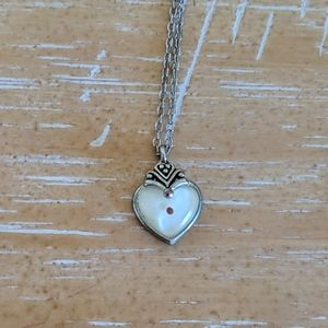 Silver plated Mustard Seed necklace